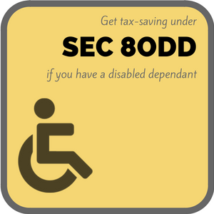 Section 80DD Deduction Limit Tax Dependent